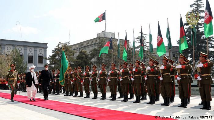 عمران خان و اشرف غنی در کابل
