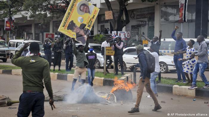 Bobi Wine protests in Kampala, November 18, 2020.