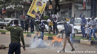 Afrika | Kenia Uganda Proteste Bobi Wine Opposition
