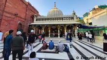 Indien  Neu-Delhi   Historisches Grab   Nizam Uddin Basti