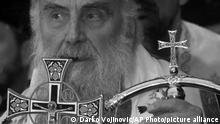 Serbien Patriarch Irinej SW
