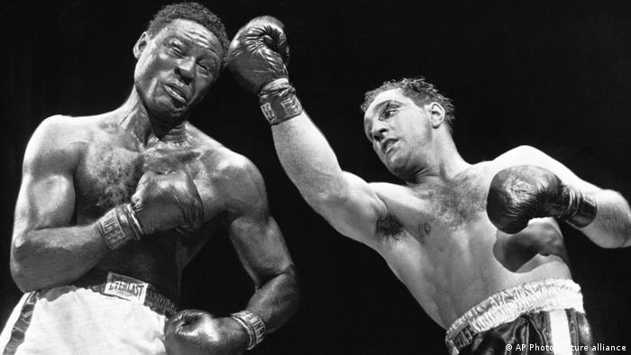 USA New York | Boxkampf: Rocky Marciano gegen Ezzard Charles