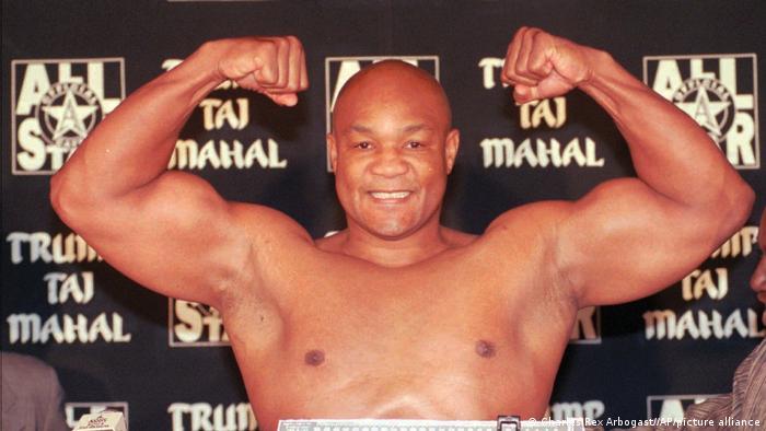 USA | Boxer George Foreman