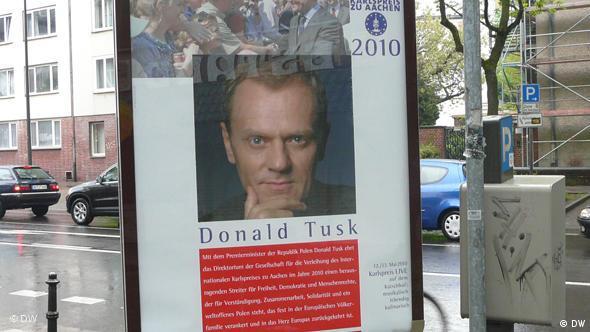 Karlspreis - Bild von Donald Tusk