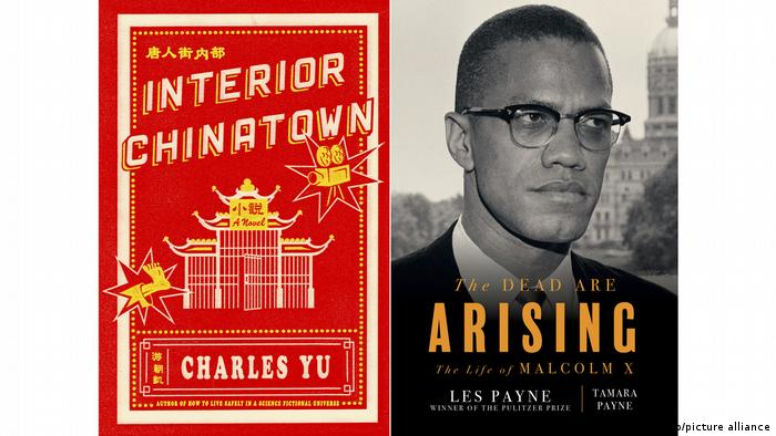Two book covers: Interior China Tow and The Dead are Arising