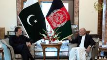 Afghanistan | Pakistanischer Premierminister Imran Khan in Kabul