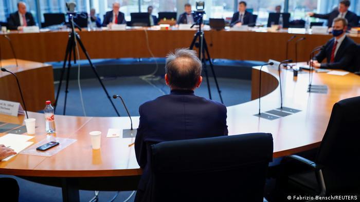 Ex-Wirecard-Chef Markus Braun vor dem Untersuchungsausschuss des Bundestages am 19. November 2020