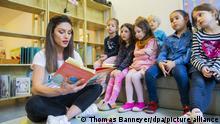 Чтение в слух в детском саду