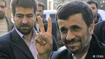 محمود احمدینژاد در جشنواره فیلم فجر