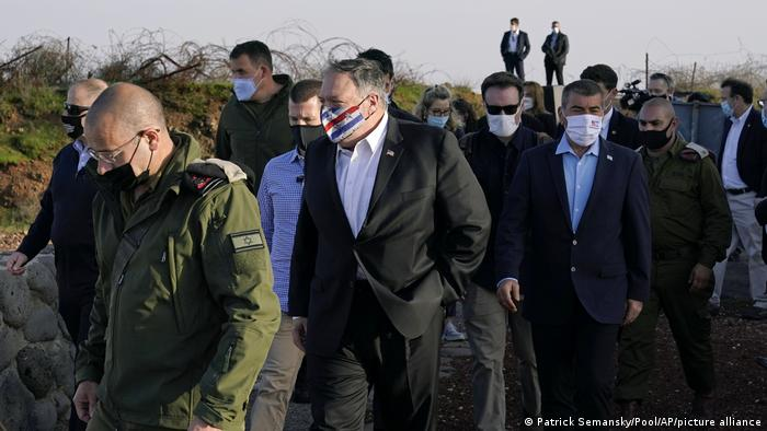 US-Außenminister Pompeo in Israel
