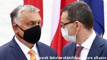 EU ringt um Finanzpaket I M. Morawiecki -und V. Orban