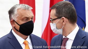 Οι πρωθυπουργοί της Ουγγαρίας και της Πολωνίας, Όρμπαν και Μαζοβιέτσκι
