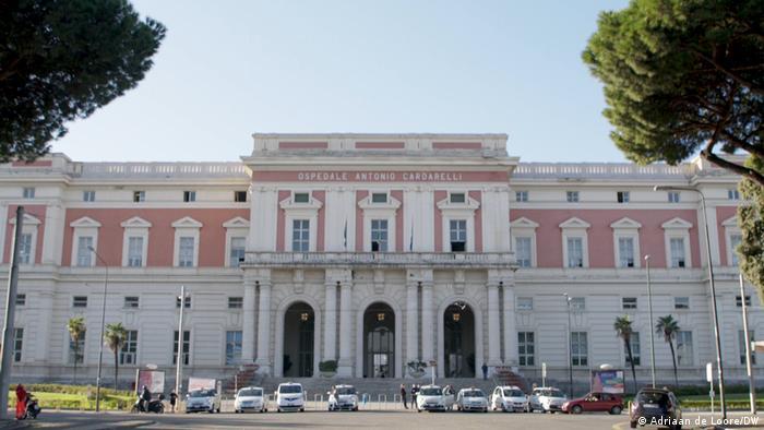 Italien / Gesundheitssystem in Neapel, Ospedale Antonio Cardarelli (DW/Adriaan de Loore)