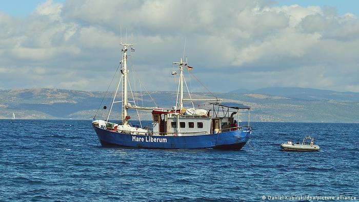 Griechenland Lesbos Mare Liberum