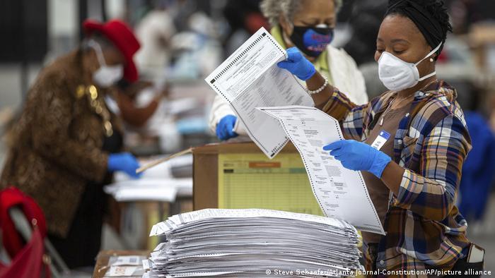 USA Atlanta | Neuauszählung Präsidentschaftswahl in Georgia