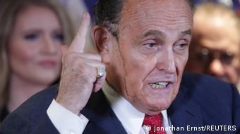USA Washington   Pressekonferenz Rudy Giuliani zu den Wahlergebnissen