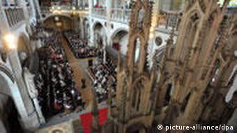Богослужение в евангелической церкви в Виттенберге