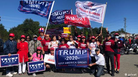 Many Vietnamese Americans back Trump and organized rallies in his support