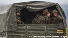 Aserbaidschan Armenien Konflikt Abzug armenischer Soldaten aus Agdam