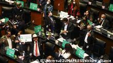 Mexiko Legalisierung Marihuana Parlament