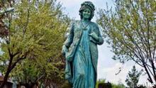 Iran Statue Masroureh Ardalan