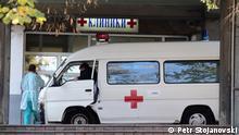 Mazedonien Coronavirus Uniklinik in Skopje