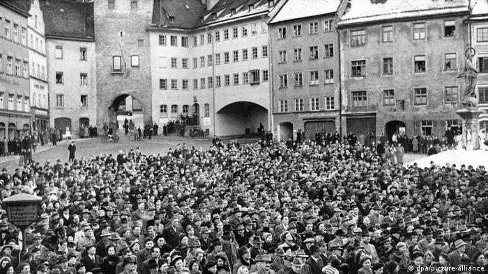 Митингът в Ландсберг