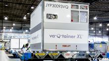 Coronavirus |Thermocontainer der Firma va-Q-tec