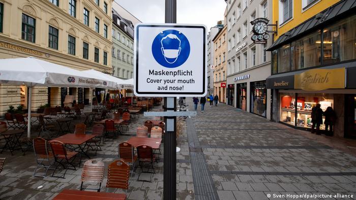 Deutschland Coronavirus Maskenpflicht München