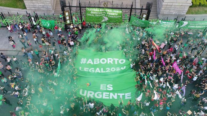 Milagros Saavedra   Protest Grüne Bewegung