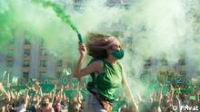 Milagros Saavedra | Protest Grüne Bewegung