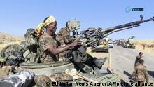 Tigray-Konflikt | Äthiopisches Militär (Ethiopian News Agency/AP/picture alliance)