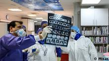 Iran Coronavirus Krankenhaus