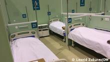 Russland | Coronavirus | provisorisches Krankenhaus