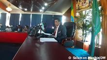 Ethiopian Current Situation _Spokesperson, Ambassador Dina Mufti 20.11.2020 Titel: The Ministry of Foreign Affairs (MoFA) has described the diplomatic activities carried out to make concerned bodies understand the law enforcement operation in Tigray as successful. Ethiopian Government Spokesperson, Ambassador Dina Mufti said his Ministry has undertaken various activities aimed at making concerned bodies understand the operation through diplomatic tours, phone conversations, webinar discussions and briefings. The Ethiopian officials briefed resident diplomats and the media, held webinar discussions with mission leaders, phone conversations with officials of foreign countries and discussions with leaders of neighbouring countries, he said. All of the leaders expressed solidarity with Ethiopia and underscored that the operation in Tigray is Ethiopia's internal affair. They said Ethiopia's stability is stability to the region. Autor/Copyright: --Solomon Muchie DW Kori Addis Ababa