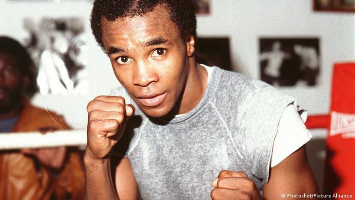 Amerikanischer Weltergewicht Boxer Sugar Ray Leonard American Welterweight Boxer World Welterweight...