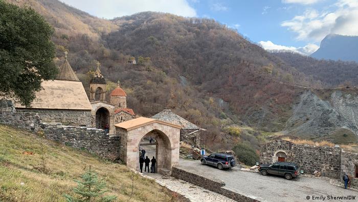 Монастырь Дадиванк - христианская святыня Закавказья