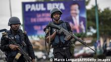 Kamerun Mitglieder der Gendarmerie