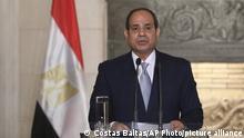Ägyptens Präsident Abdel Fattah al-Sisi