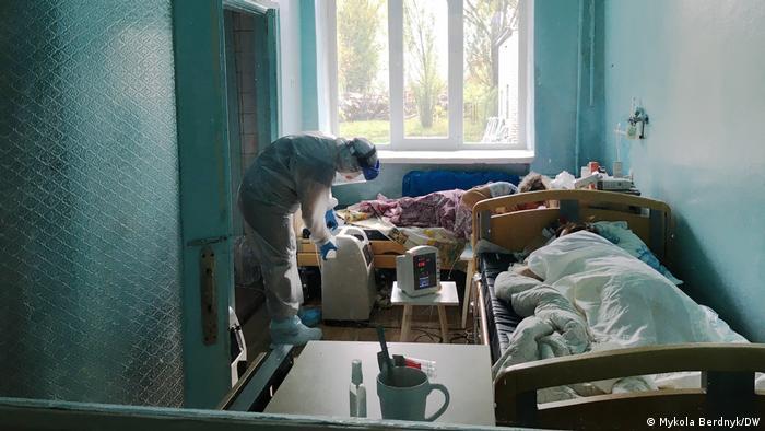 Пацієнти з COVID-19 в Україні (архівне фото)