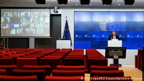 Δημοσιογράφος τρυπώνει σε τηλεδιάσκεψη στις Βρυξέλλες