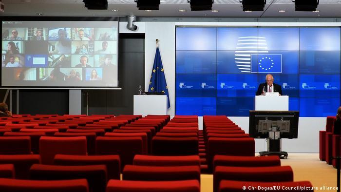 Virtualni sastanak ministara vanjskih poslova EU s Josepom Borrellom