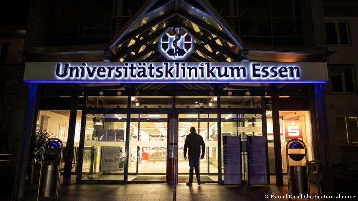 Outside of the Essen University Hospital