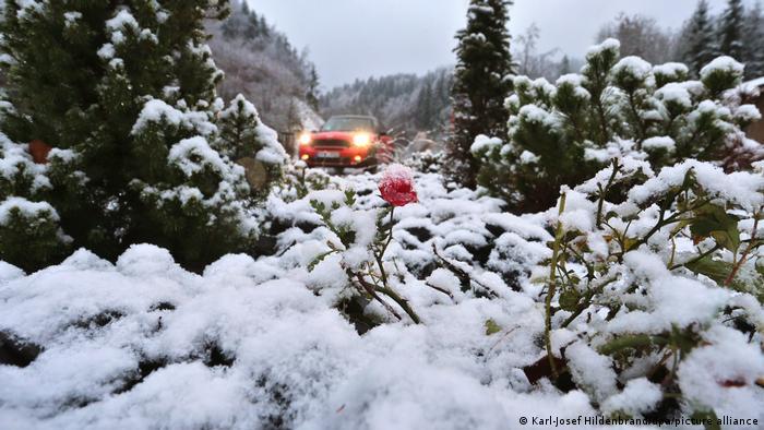 BdTD Deutschland Schnee in höheren Lagen Bayerns