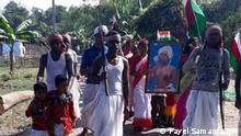 Birsa Munda is a legendary personality worshipped as god by the adivasi people. Keywords: Birsa Munda, adivasi, santal, bjp, tmc, amit shah, statue Where it was taken: West Bengal Copyright: Payel Samanta