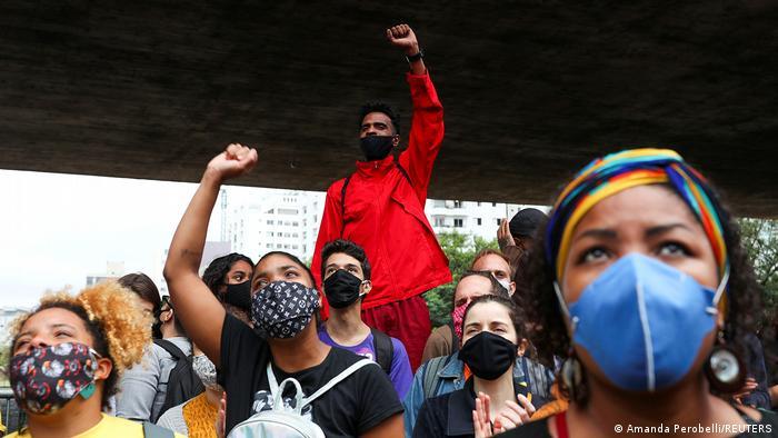 Manifestação no Dia da Consciência Negra em São Paulo