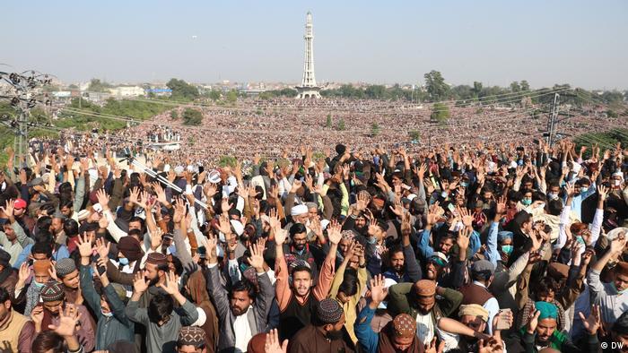 Pakistan Beerdigung Khadim Hussain Rizvi