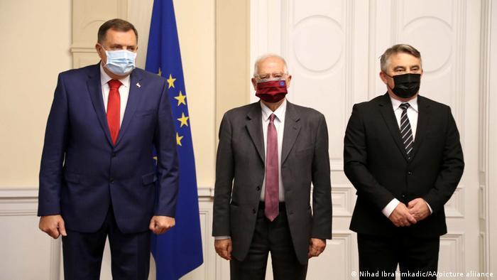 Bosnien und Herzegowina | Josep Borrell in Sarajevo