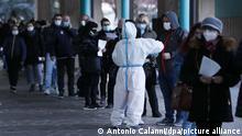 Italien | Coronavirus | Südtirol | Massentest in Bozen