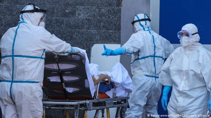 Italien Neapel | Coronavirus | Cardarelli-Krankenhaus